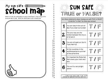Sun Safety {fun and safe in the sun booklet}