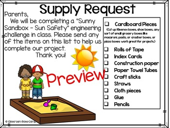 Sun Safety STEM