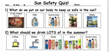 Sun Safety! Staying Safe in the Hot Summer Weather!