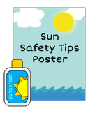 Sun Safety Tips Poster Handout Summer FREE