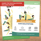 Sun Salutation Yoga Cards