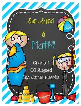 Sun, Sand & Math {Print and Go!}