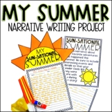 Sun-Sational Summer Narrative Writing Project