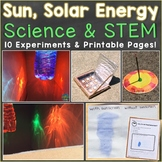 Sun Science Experiments & STEM Activities, Summer Science