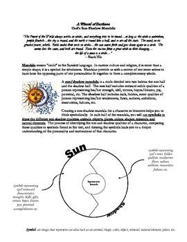 Sun-Shadow Mandala for A Wizard of Earthsea