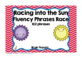 Sun Sight Word Fluency Phrases Race