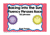 Sun Sight Word Fluency Phrases Race
