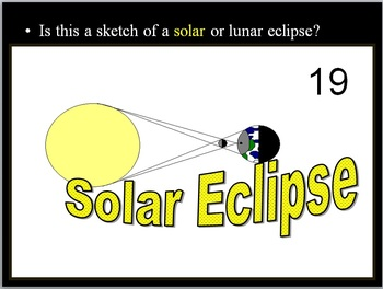 Solar System and the Sun Quiz Game