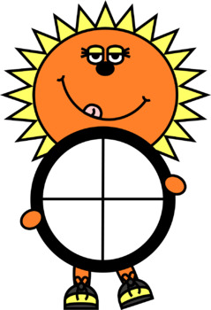 Sun Spinners Clip Art