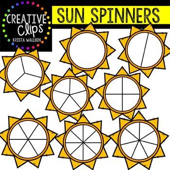 Sun Spinners {Creative Clips Digital Clipart}