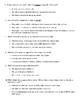 Sun Story Test (Imagine It - 3rd Grade - Unit 4)