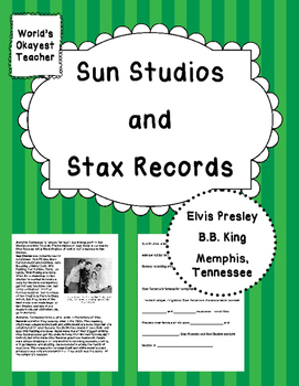Sun Studios and Stax Records: Memphis Tennessee