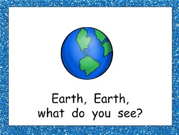 Sun, Sun What Do You See Shared Reading PowerPoint Kindergarten Space Planets
