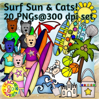 Sun, Surf and Cats