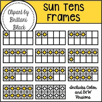 Sun Tens Frames