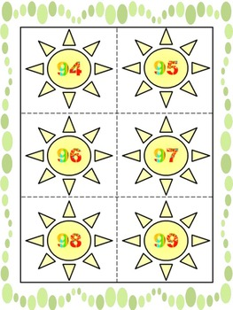 Sun Theme - Alphabet - Numbers