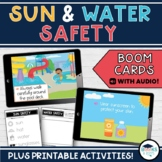 Sun & Water Safety BOOM CARDS BUNDLE - Digital Interactive Task Cards