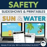 Sun & Water Safety Slideshow BUNDLE for Google Slides™