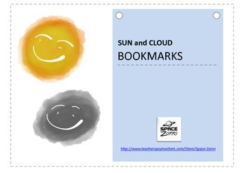 Sun and Cloud Bookmarks
