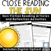 Solar Eclipse Reading Comprehension Passages and Questions Science Close Reading