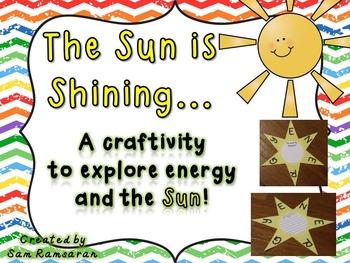 Sun and Energy Craftivity {Freebie}