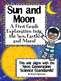 Sun and Moon, A First Grade Exploration into the Sun, Eart