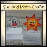 Sun and Moon Craft and Writing