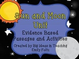 Sun and Moon Science Unit...Evidence Based Passsages, Experiments and More!!