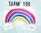 Sun and Rainbows, Weather Watercolor Clipart, Happy Day