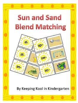 Sun and Sand Blend Matching