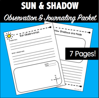 Sun and Shadow Observation Packet