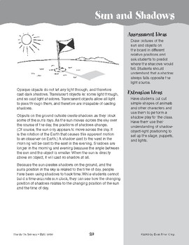 Sun and Shadows (Earth & Space Science)