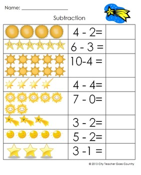 Letter S - Sun and Star Thematic Unit