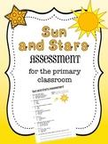 Sun and Stars Assessment - First Grade