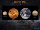 Sun and planets Part 2