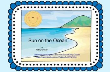 Sun on the Ocean:  An Interactive Rhyming Book