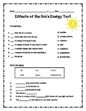 Sun's Energy Assessment