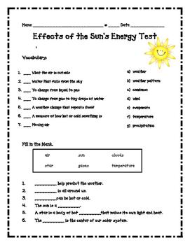 Sun's Energy Assessment