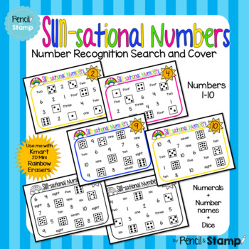 Sun-sational Numbers- Search and Cover Number Recognition