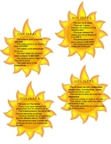 Sun zones cards