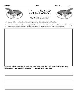 Sunbird by Neil Gaiman Assignment
