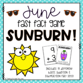 Sunburn! - June Fast Fact Game