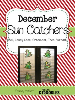 December Sun Catchers Window Craft