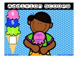 Sundae Addition Scoops {Adding 3 Numbers}