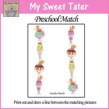 Sundae Match Sheet