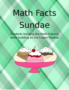 Sundae Math Facts in Color