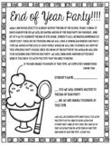 Sundae Party Forms *Editable*