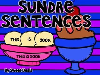 Sundae Sentences