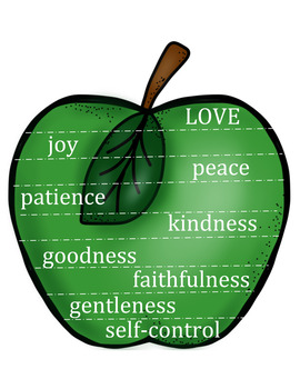 Sunday School Activities: Fruits of the Spirit
