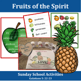 Sunday School Activities: Fruits of the Spirit